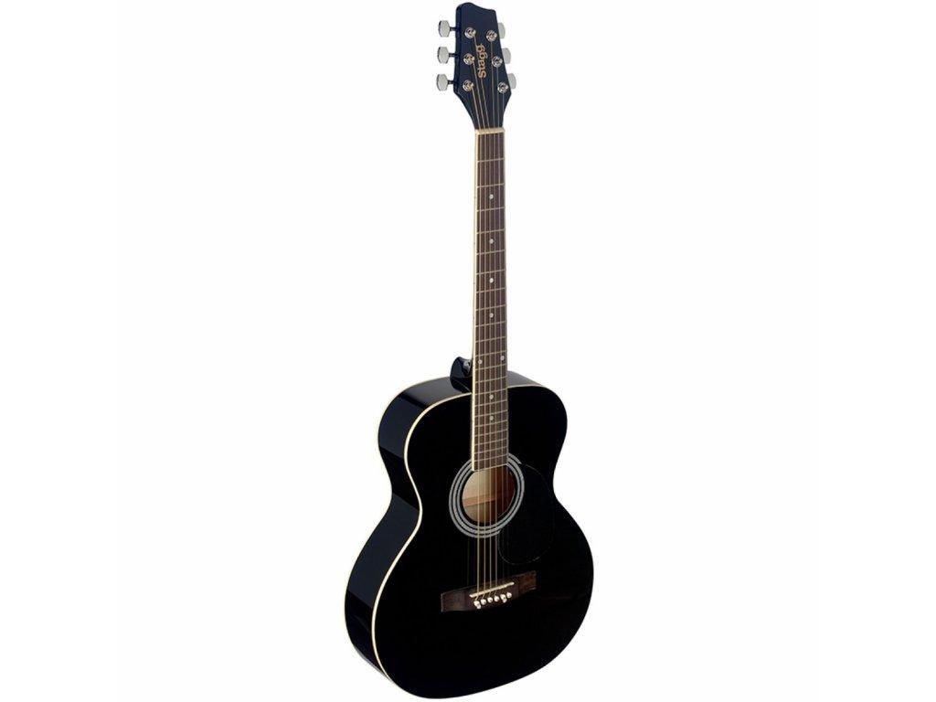 Stagg SA20A BLK, akustická kytara typu Auditorium