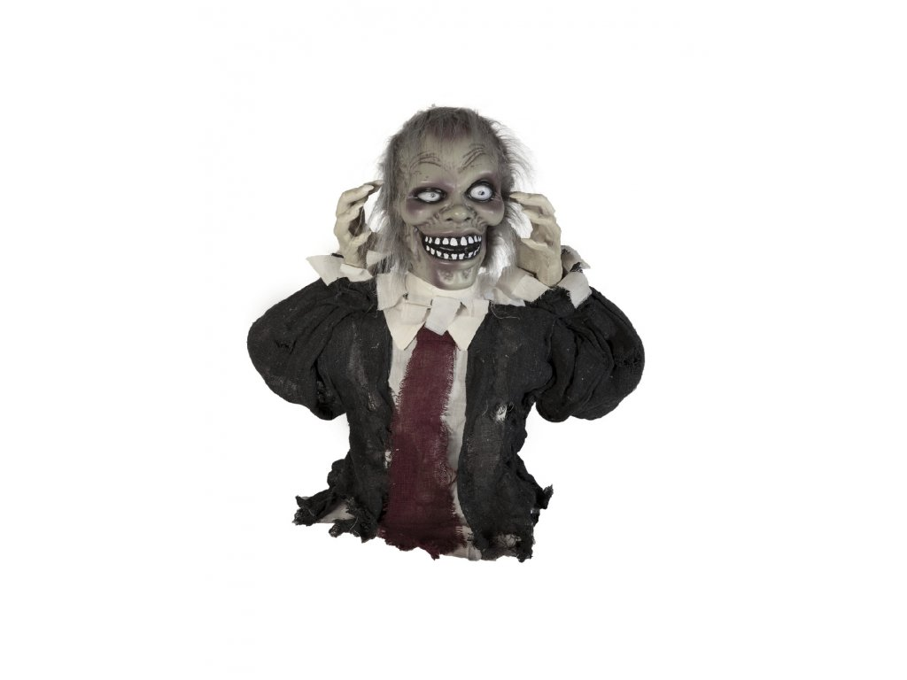 Halloween zombie Theo, 67 cm