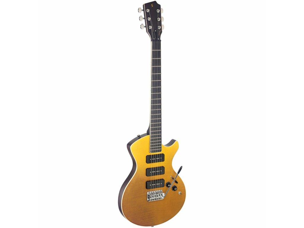 Stagg SVY NASHDLX FSB, elektrická kytara, sunburst