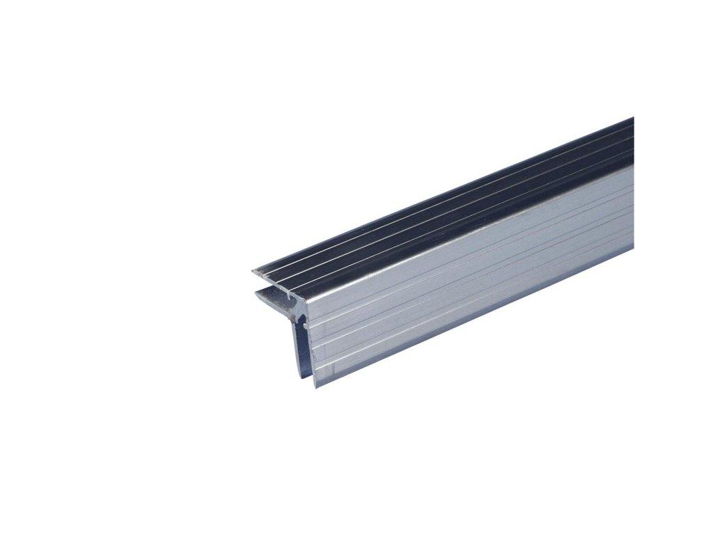 """Hliníkový """"L"""" profil 30x30mm pro překližku 7mm, délka 2m, cena/1m"""