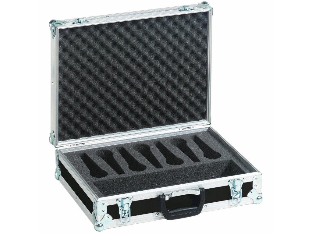 Mikrofonní kufr Pro 7, černý
