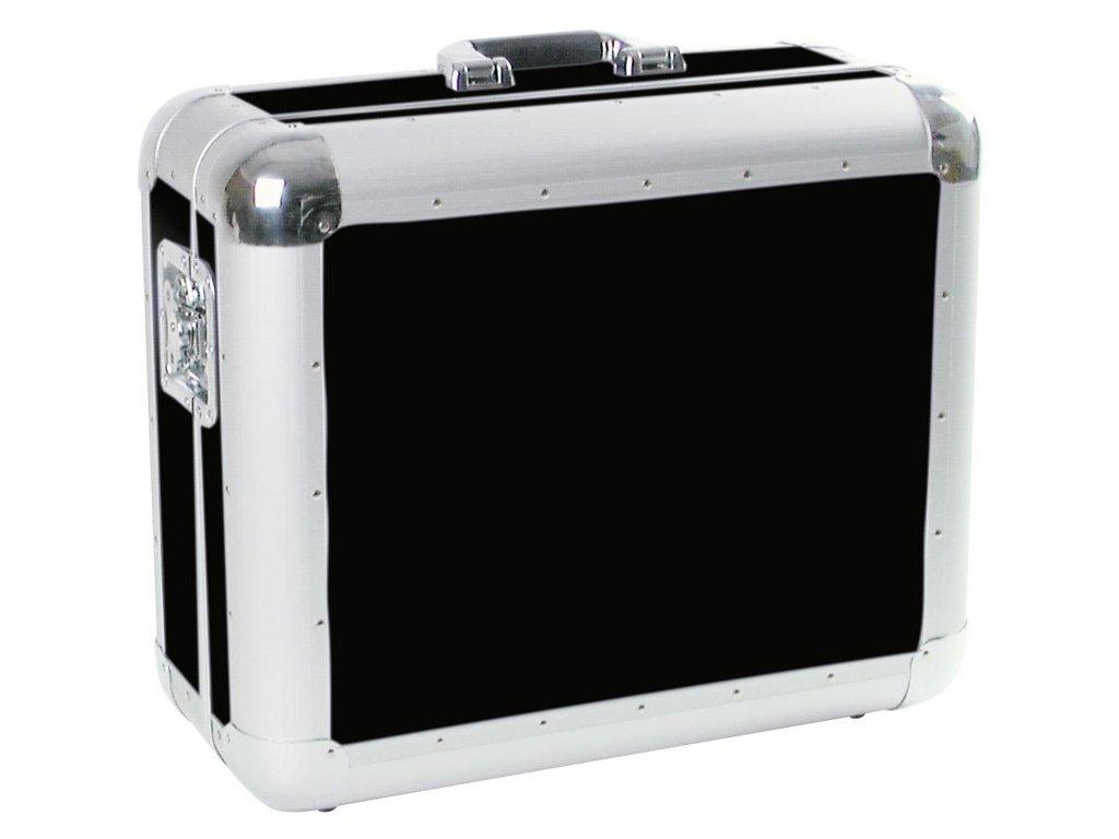 Gramo Case Tour, přepravní gramofonní kufr hliníkový  černý