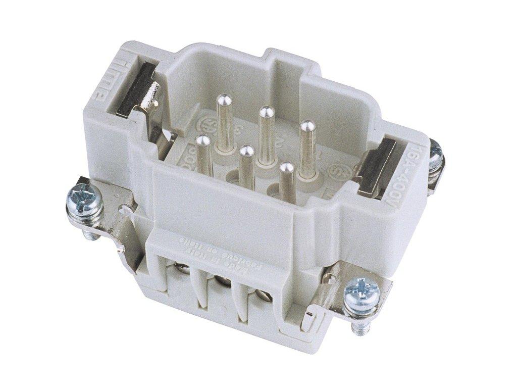 Konektor zástrčkový 6 pólový