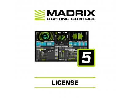 Madrix Ultimate, sw licence, 262.144 kanálů, vyžaduje Madrix 5 Key