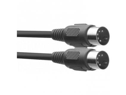 Stagg SMD6 E, kabel midi DIN/DIN, 6m