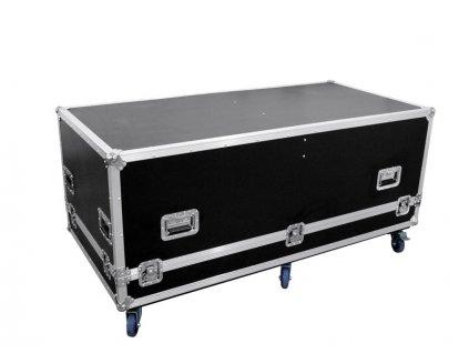 Transportní case 2x CLA-115 with castors