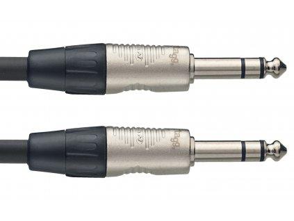 Stagg NAC3PSR, kabel stereo JACK/JACK, 3m