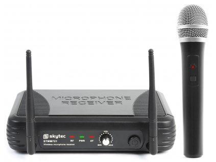 Skytec UHF mikrofonní set 1 kanálový, 1x ruční mikrofon