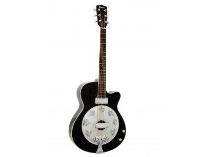 Dimavery RS-420, elektroakustická rezofonická kytara, černá