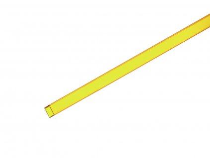 Profil 10x10mm, žlutý, 4m