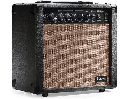 Stagg 15 AA DR, kombo pro elektroakustickou kytaru, 15W