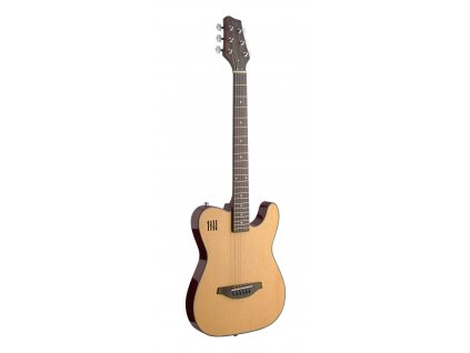 James Neligan EW3000CN, elektrická kytara, přírodní