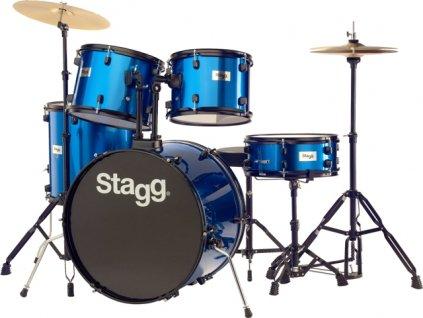 Stagg TIM122B BL kompletní bicí sada, modrá