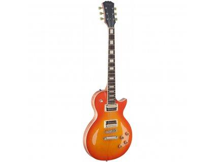 Stagg SEL-ZEB-HB, elektrická kytara, honeyburst