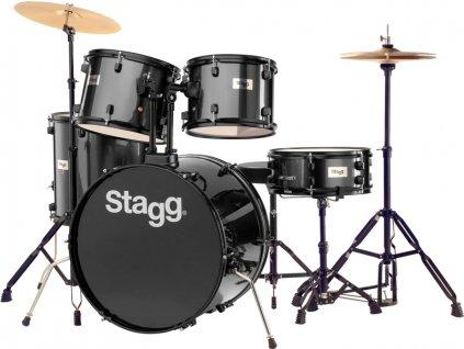 Stagg TIM122B BK kompletní bicí sada, černá