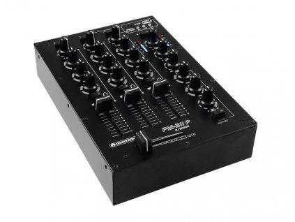 Omnitronic PM-311P, 3-kanálový mixážní pult s MP3 přehrávačem