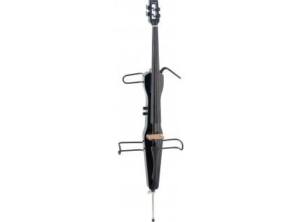 Stagg ECL 4/4 BK, elektrické violoncello, černé