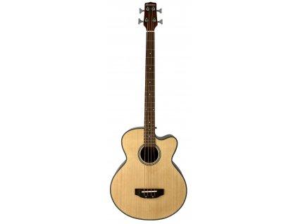 Dimavery AB-450, elektroakustická baskytara, přírodní