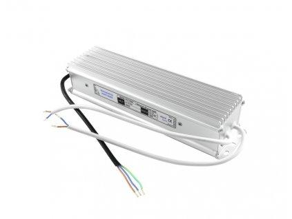 Transformátor elektronický 12V / 16,66A, IP67, pro LED