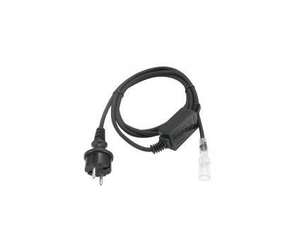 Kabel napájecí 1 kanálový pro LED rubberlight se zástrčkou 5mm