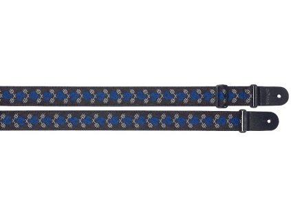 Stagg SWO-SKTRID BLU, kytarový popruh, modrý