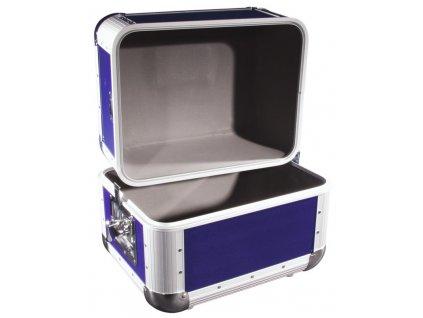 LP case ALU 50/50, kulaté rohy, tmavě modrý