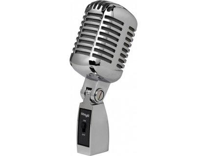 Stagg SDM100 CR, dynamický vintage mikrofon