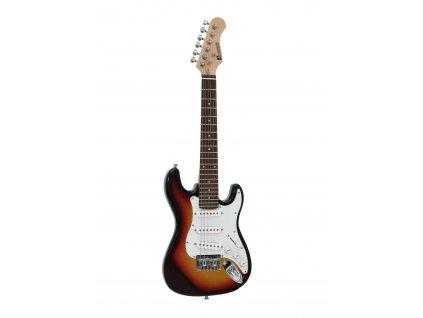 Dimavery J-350, elektrická kytara pro děti, sunburst