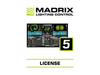 Madrix Entry, sw licence, 4096 kanálů, vyžaduje Madrix 5 Key