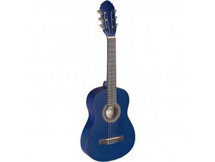 Stagg C405 M NAT, klasická kytara 1/4, modrá