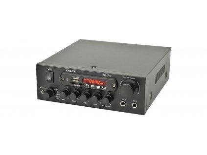 QTX KAD-2BT Digital stereo zesilovač s Bluetooth, 2x 40W