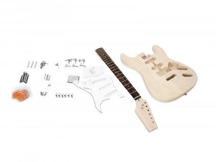 Dimavery DIY ST-20, kytarová stavebnice