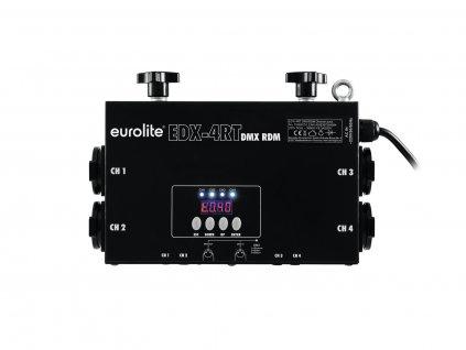 Eurolite EDX-4RT DMX RDM, stmívač