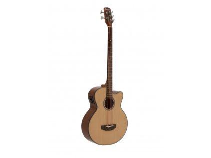 Dimavery AB-455, elektroakustická baskytara pětistrunná, přírodní