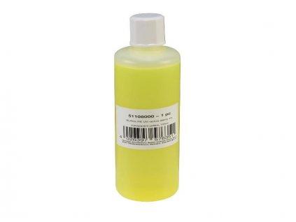 UV razítkovací barva 100ml, žlutá