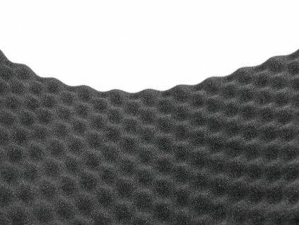 Akustický tlumící panel, vlnky 20mm, rozměr, 100x206cm
