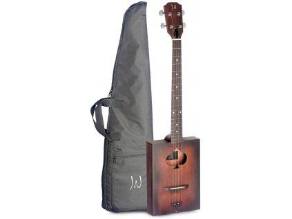 James Neligan CASK-FIRKIN, akustická kytara typu Cigar Box
