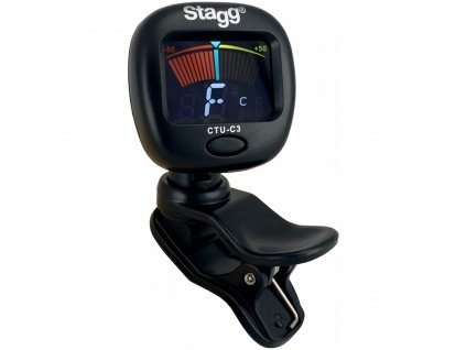 Stagg CTU-C3, klipová ladička