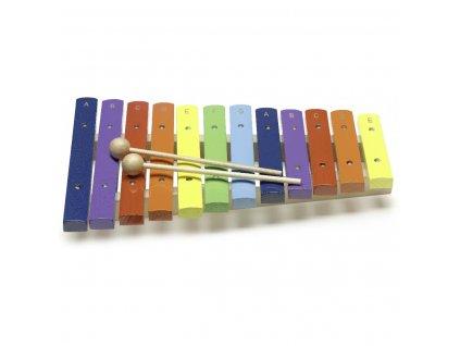 Stagg XYLO-J12 RB, xylofon, 12 barevných kamenů