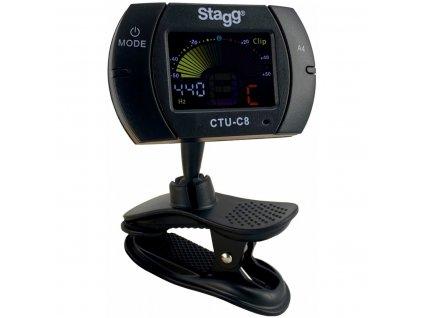 Stagg CTU-C8, klipová ladička