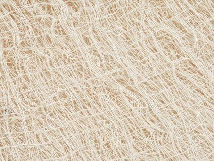 Dekorační tkanina, hrubá, béžová, 76x500cm