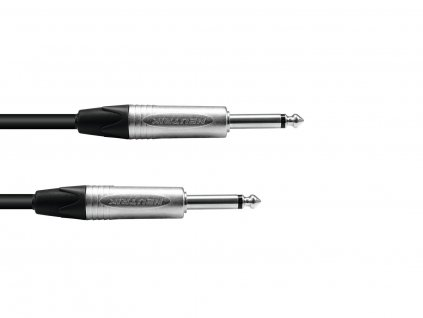PSSO Speaker cable Jack 2x2.5 5m bk