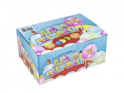 Jumbo Jelly Ball 90 cm, nafukovací skákací míče, balení 12 ks