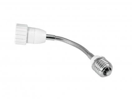 Eurolite adaptér E27/GU10, husí krk