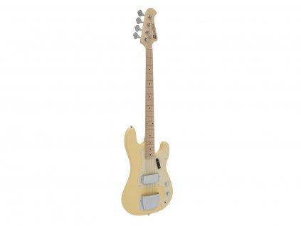 Dimavery PB-550, elektrická baskytara, blond
