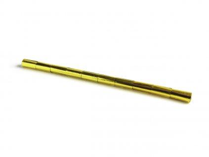 Tcm Fx metalické konfety-serpentýny 10mx5cm, zlaté, 10x