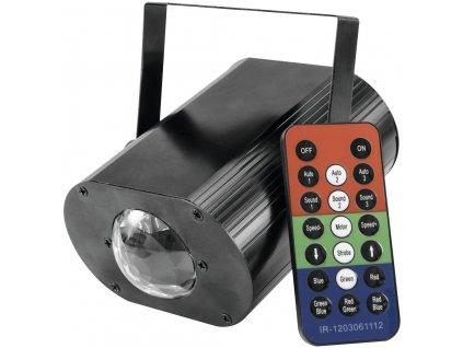 Eurolite LED H2O světelný efekt, 1x TCL RGB LED, IR