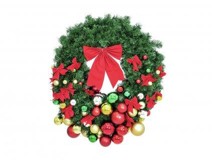 Jedlový vánoční věnec, 90cm
