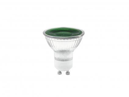 Omnilux GU-10 230V LED SMD 7W, zelená