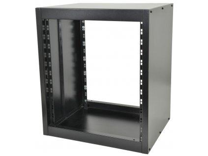 "Adastra racková 19"" skříň kovová, 568mm, 28HE, černá"